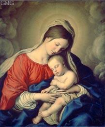 Sassoferrato | The Virgin and Child | Giclée Canvas Print
