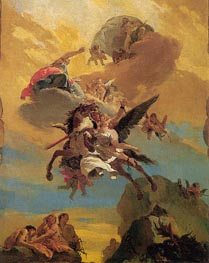 Tiepolo | Perseus and Andromeda, c.1730 by | Giclée Canvas Print