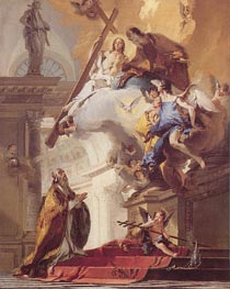 Tiepolo | The Trinity Appearing to Saint Clement, c.1730/35 | Giclée Canvas Print