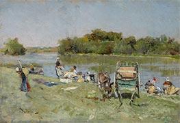 Giovanni Boldini | Washerwomen, 1874 | Giclée Canvas Print