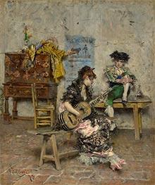 Giovanni Boldini | Guitar Player, 1872 | Giclée Canvas Print