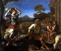 Guercino   Erminia and the Shepherds, 1648   Giclée Canvas Print