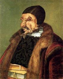 Arcimboldo | Jurist, 1566 | Giclée Canvas Print