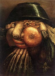 Arcimboldo | Vegetable Gardener, c.1590 | Giclée Canvas Print