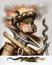 Arcimboldo | An Allegory of Fire, undated | Giclée Paper Print