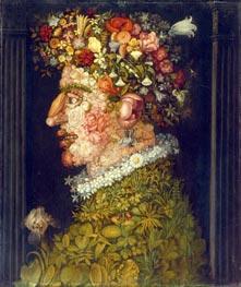 Arcimboldo | Spring, c.1598 | Giclée Canvas Print