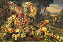 Arcimboldo | Fall (Autumn), c.1685/95 | Giclée Canvas Print