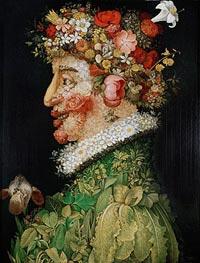 Arcimboldo | Spring (Allegory of Spring), 1573 | Giclée Canvas Print