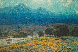 California Poppy Field, c.1926 by Granville Redmond | Giclée Canvas Print