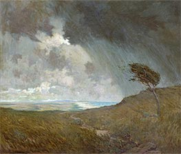 Coastal Storm, 1905 by Granville Redmond | Giclée Canvas Print