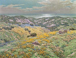 Sand Dunes, undated by Granville Redmond | Giclée Canvas Print
