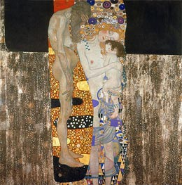 Klimt | The Three Ages of Woman | Giclée Canvas Print