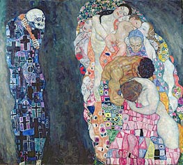 Klimt | Death and Life, c.1910/15 by | Giclée Canvas Print