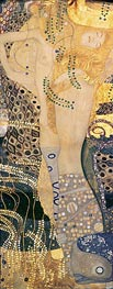 Klimt | Water Serpents I | Giclée Canvas Print