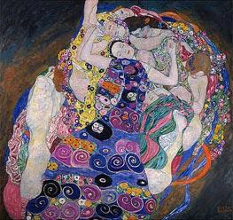 Klimt | The Virgin (The Maiden) | Giclée Canvas Print