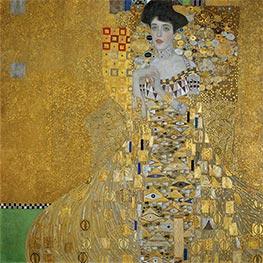 Klimt | Portrait of Adele Bloch-Bauer I, 1907 | Giclée Canvas Print