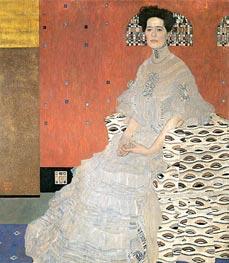Klimt | Portrait of Fritza Riedler, 1906 | Giclée Canvas Print