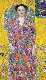 Klimt | Portrait of Eugenia Primavesi, c.1913/14 | Giclée Canvas Print