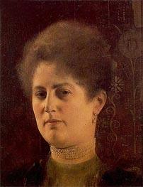Klimt | Portrait of a Lady (Frau Haymann) | Giclée Canvas Print