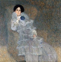 Klimt | Portrait of Marie Henneberg | Giclée Canvas Print