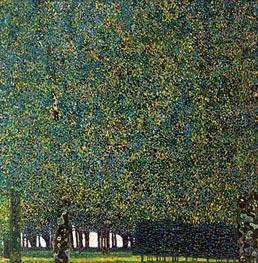 Klimt | The Park | Giclée Canvas Print
