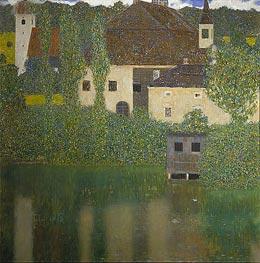 Klimt | Kammer Castle at Attersee I, 1908 | Giclée Canvas Print