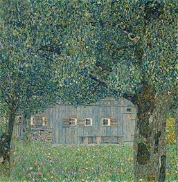 Klimt | Farmhouse in Upper Austria, 1911 | Giclée Canvas Print