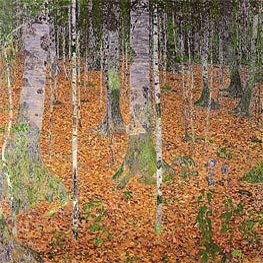 Klimt | Birch Woods, 1903 | Giclée Canvas Print