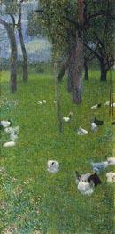 Klimt | After the Rain, 1899 | Giclée Canvas Print