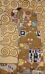 Klimt | Fulfilment (Stoclet Frieze), c.1905/06 | Giclée Paper Print