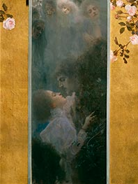 Klimt | Love, 1895 | Giclée Canvas Print