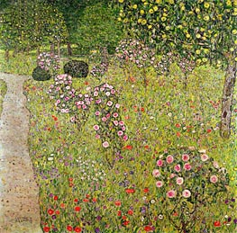 Klimt | Orchard with Roses, c.1911/12 | Giclée Canvas Print