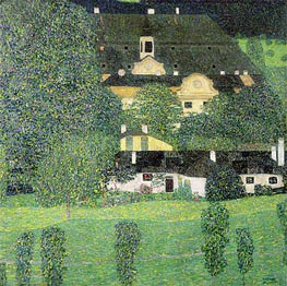 Klimt | Kammer Castle at Attersee II, c.1909 | Giclée Canvas Print