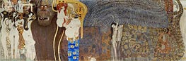 Klimt | The Hostile Powers (The Beethoven Frieze), 1902 | Giclée Canvas Print