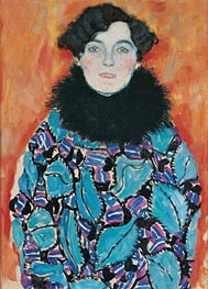 Klimt | Portrait of Johanna Staude, c.1917/18 | Giclée Canvas Print