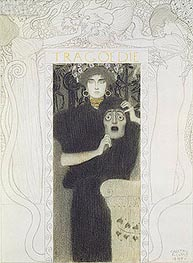 Klimt | Tragedy, 1897 | Giclée Paper Print