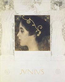 Klimt | Junius, 1896 | Giclée Paper Print