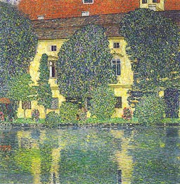 Klimt | Kammer Castle at Attersee III, 1910 | Giclée Canvas Print