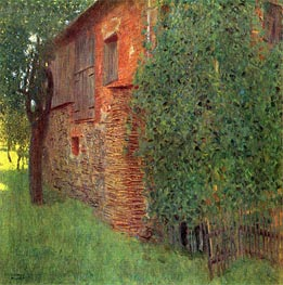 Klimt | Farmhouse in Kammer am Attersee, 1901 | Giclée Canvas Print