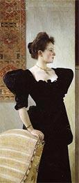 Klimt | Portrait of Marie Breunig | Giclée Canvas Print