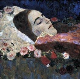 Klimt | Ria Munk on Her Deathbed | Giclée Canvas Print