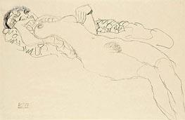 Klimt | Reclining Female Nude, c.1914/15 | Giclée Paper Print