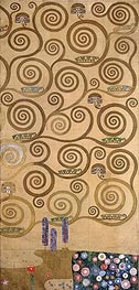 Klimt | Right-Hand Edge (Stoclet Frieze) | Giclée Paper Print