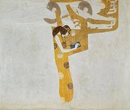 Klimt | Poetry (The Beethoven Frieze) | Giclée Canvas Print