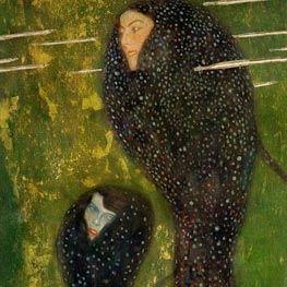 Klimt | Mermaids (Detail)  | Giclée Canvas Print