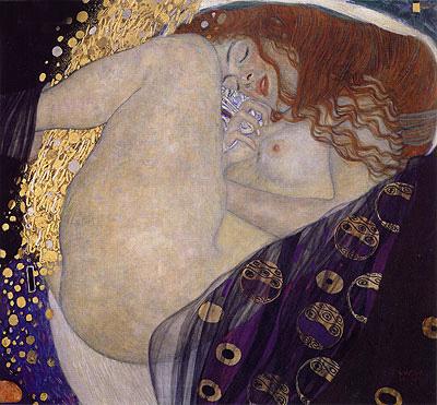 Danae, c.1907/08 | Klimt | Painting Reproduction