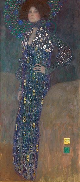 Portrait of Emilie Floge, 1902   Klimt   Painting Reproduction