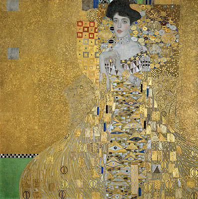 Klimt | Portrait of Adele Bloch-Bauer I, 1907 | Giclée Canvas Print