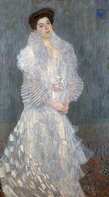 Portrait of Hermine Gallia, 1904 | Klimt | Painting Reproduction