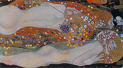 Water Serpents II, c.1904/07 | Klimt | Painting Reproduction